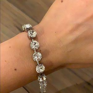 Sabika Clear Rhinestone bracelet